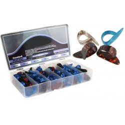 C300.022 Caja de 100 puas de nylon para pulgar