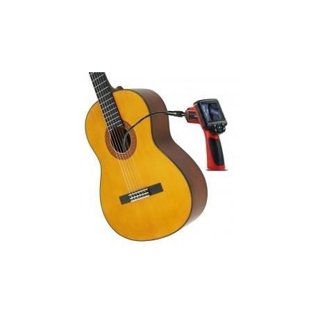 C300.060 Camara con grabacion de video y fotos para ver el interior de la guitarra.