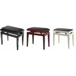 C500.040BK-BK Banqueta de piano Negra