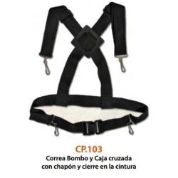 CP.103 Correa Cruzada Bombo y Caja