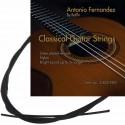 C302.910 Cuerdas Guitarra Clasica Antonio Fernandez Tension Media Nylon Negro