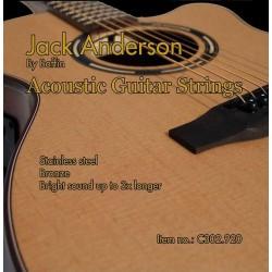 C302.920 Cuerdas Guitarra Acustica Jack Anderson