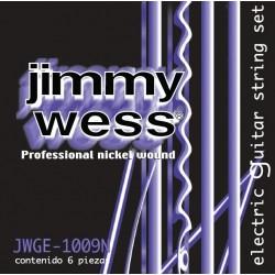 JWWGE-1009N Cuerdas Electrica Jimmy Wess