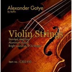 C302.950 Cuerdas Violin Alexander Gotye