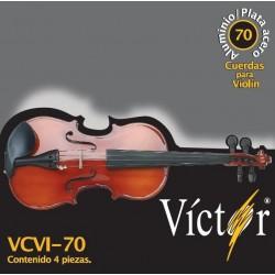 VCVI-70 Cuerdas de Violin Victor