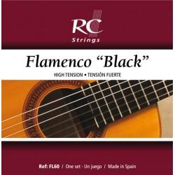 Juego de Cuerdas Royal Classics Flamenco Negro FL60