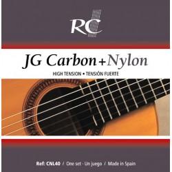 Juego de Cuerdas Royal Classics JG carbono y nylon CNL40