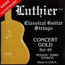 C302.040 Juego de Cuerdas Luthier Tension 40