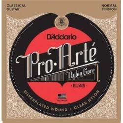 EJ45 Juego de Cuerdas D Addario para Clasica Pro Arte