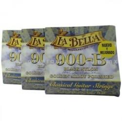 LB901 Primera Cuerda La Bella 901 Nylon Negro