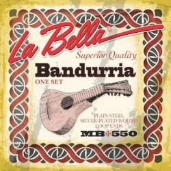 MB550 Juego de Cuerdas de Bandurria La Bella MB-550