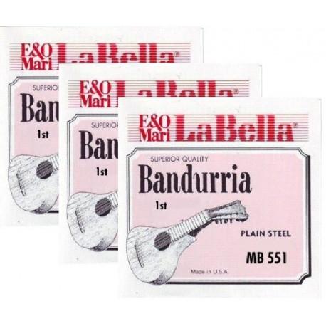 MB551 Segunda Cuerda de Bandurria La Bella MB-550 (2 unidades)