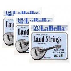 ML454 Cuarta Cuerda de Laud La Bella ML-450 (2 unidades)