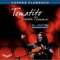 T50J Juego de Cuerdas Savarez Tomatito de Flamenco