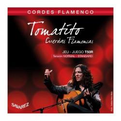 T50R Juego de Cuerdas Savarez Tomatito de Flamenco