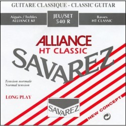 540R Juego de Cuerdas Clasica Savarez Alliance Tension Media