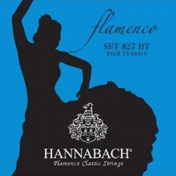 827HT Juago de Cuerdas Hannabach para Flamenco Tension Alta