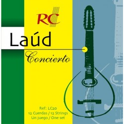 Juego de Cuerdas Royal Classics Laud concierto LC20