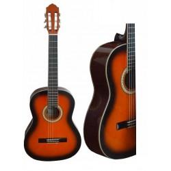 C320.101SB Guitarra Clasica ROJA SUMBURST