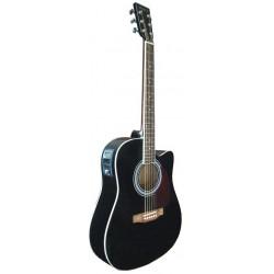 C331.650EQBK Guitarra Electroacustica Negra
