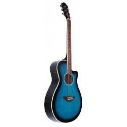 C330.646BL Guitarra Acustica Mini Jumbo tipo APX AZUL