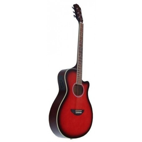 C330.646SB Guitarra Acustica Mini Jumbo tipo APX SUMBURST