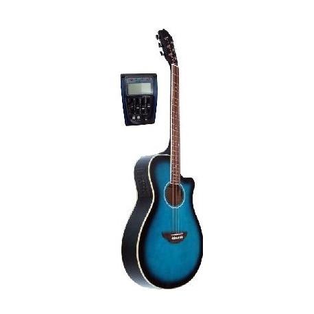 C331.646EQBL Guitarra Electroacustica Mini Jumbo tipo APX AZUL