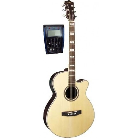 C331.647LM Guitarra Acustica Mini Jumbo NATURAL MATE
