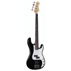C312.302BK Bajo tipo Jazz Bass Negro
