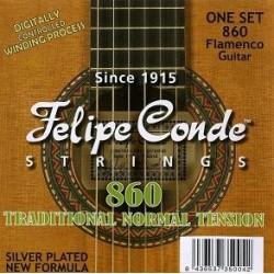 C302.860 Cuerdas Felipe Conde Flamenco Tension Baja