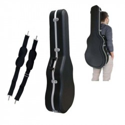 CIBELES C210.001C Estuches ABS Clasica Forma Guitarra