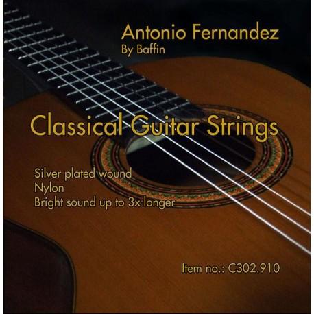 C302.910 Cuerdas Guitarra Clasica Antonio Fernandez Tension Media