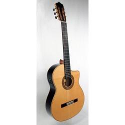MTZ MFG-RSZ CE Guitarra Flamenca Zurdo. Palosanto EQ Fishman PSY-301
