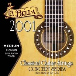 Juego de Cuerdas La Bella 2001 Concierto T. Media