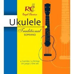 Juego de Cuerdas Royal Classics Ukelele Soprano