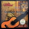 C302.ACU108BK Cuerdas Guitalele Nylon Negro