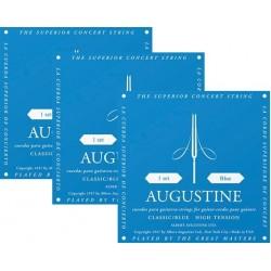 Augustine Blue Tension Alta. Juego de Cuerdas para Guitarra Clasica