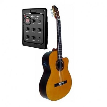 Jose Gomez C320.204EQ Guitarra Clasica Palosanto Amplificada