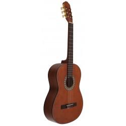 C320.203BO Brillo Guitarra Clasica de Sapeli. Tapa oscura