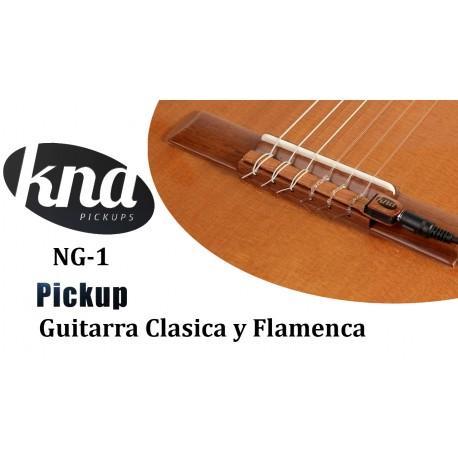 KNA NG-1 Previo Guitarra Clasica y Flamenca pickup pastilla