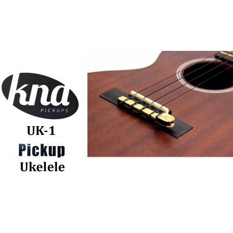 KNA UK-1 Previo Ukelele pickup pastilla