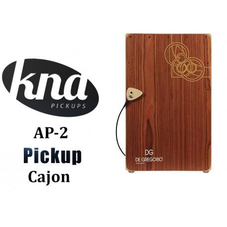 KNA AP-2 Previo universal Acustica o Cajon con Control de Volumen pickup pastilla