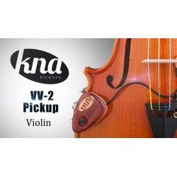KNA VV-2 Previo Violin y Viola con Control de Volumen pickup pastilla