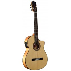 MTZ MFG-ASZ Zurdo Cut EF Guitarra Flamenca EQ Fishman PSY-301