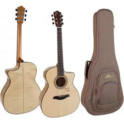 Mayson M7/SCE1 Guitarra Acustica m7s ce m7sce arce rizado electro acustica