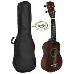 C380.050NA Ukelele Soprano LANAI con Funda Color Natural Satinado