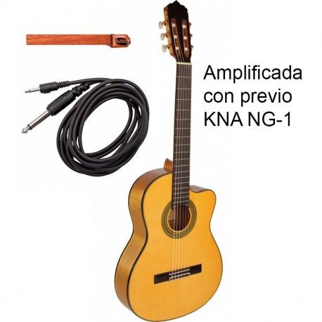Jose Gomez C320.590EQ KNA NG-1 CUT Guitarra Flamenca