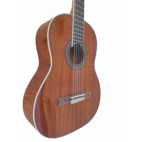 C320.202C Brillo Guitarra Clasica de Sapeli Jose Gomez Tapa Oscura