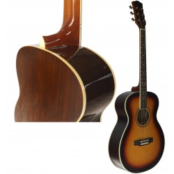 C330.648SB Guitarra Acustica Mini Jumbo tipo APX SUNBURST - Palosanto