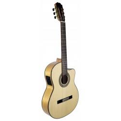 Tatay C320.590 CEQ Guitarra Flamenca de Tapa Maciza cutaway y Fishman PSY-301